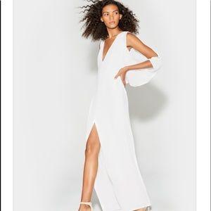 Halston Hertitage Cape Sleeve NWT Dress